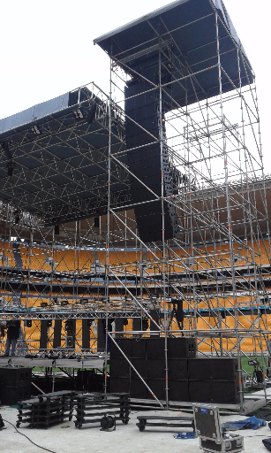 Stage Construction at FNB Stadium